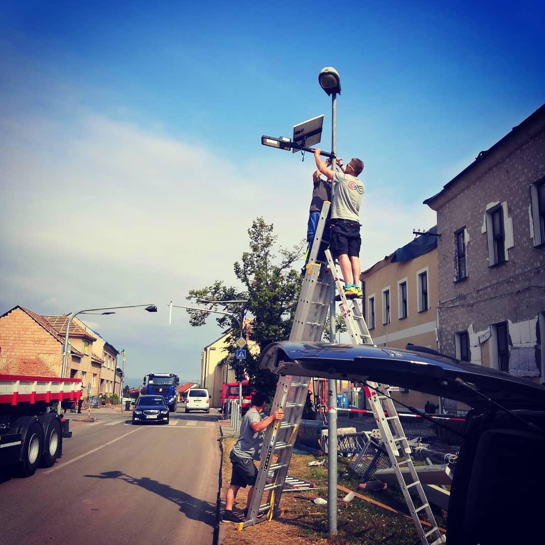 Pomoc Moravě - instalace